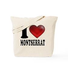 I Heart Montserrat Tote Bag
