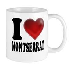 I Heart Montserrat Small Mug