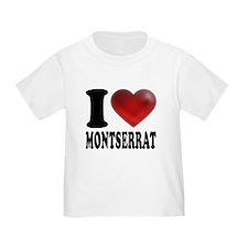 I Heart Montserrat T