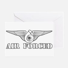 Air Forced Greeting Card