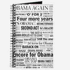 Obama 2012 Victory Headline Journal