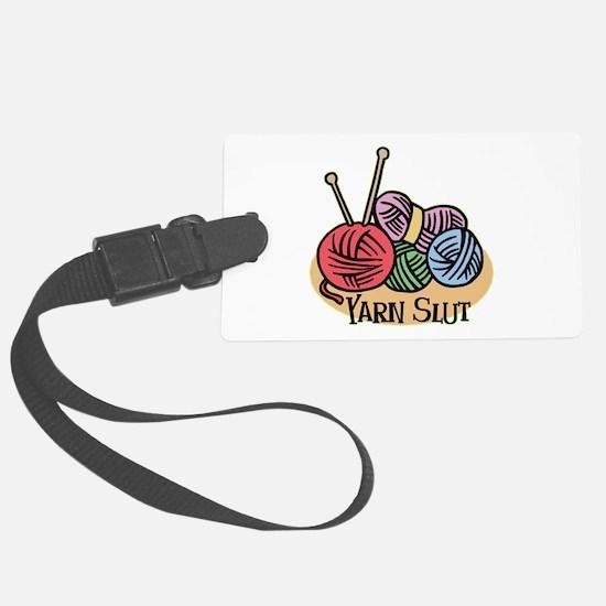 Yarn Slut Luggage Tag