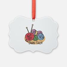 Yarn Slut Ornament