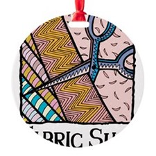 Fabric Slut Ornament