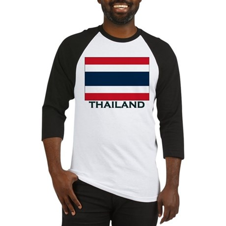 Flag of Thailand Baseball Jersey