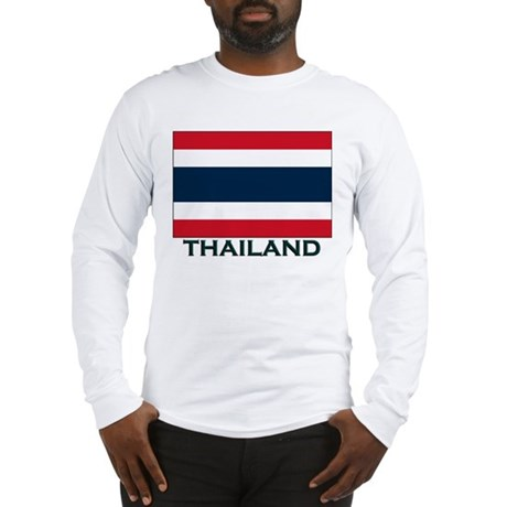 Flag of Thailand Long Sleeve T-Shirt