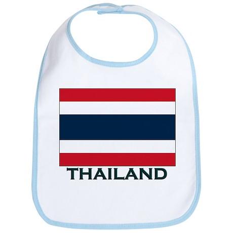 Flag of Thailand Bib