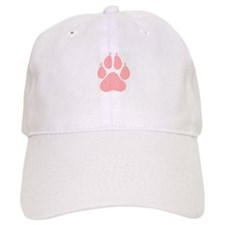 Ladies Paw Print Baseball Cap