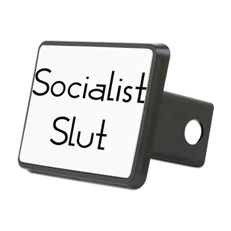 Socialist Slut Rectangular Hitch Cover