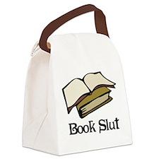 Book Slut Canvas Lunch Bag