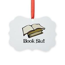 Book Slut Ornament