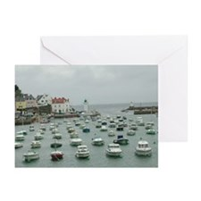 Belle-Ile / Sauzon 2 Greeting Cards (Pk of 10)