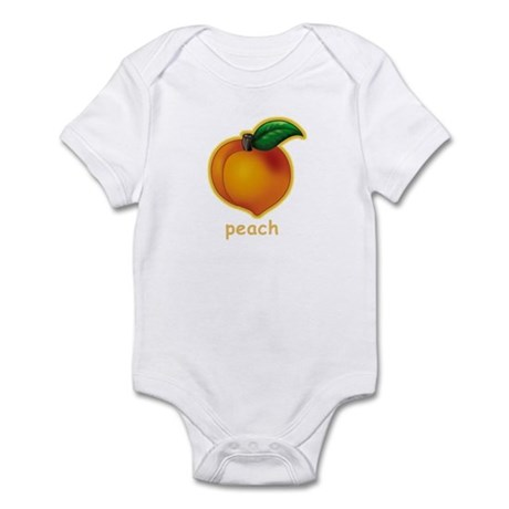 Peach Infant Creeper