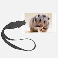 Hamster Luggage Tag