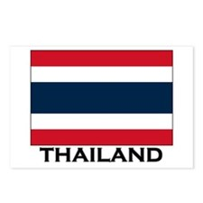 Thailand Flag Stuff Postcards (Package of 8)