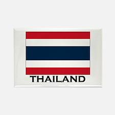 Thailand Flag Stuff Rectangle Magnet