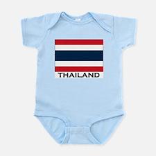 Thailand Flag Stuff Infant Creeper