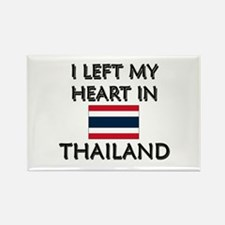 I Left My Heart In Thailand Rectangle Magnet