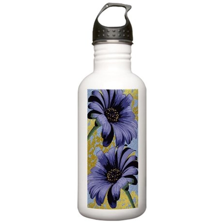 TwoPurpleAsters.png Stainless Water Bottle 1.0L