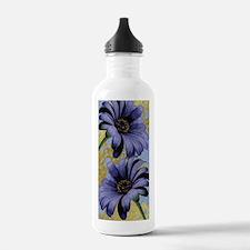 TwoPurpleAsters.png Water Bottle