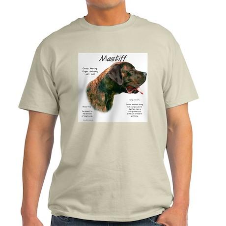 Apricot Brindle Mastiff Light T-Shirt