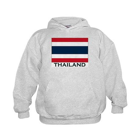 Thailand Flag Gear Kids Hoodie