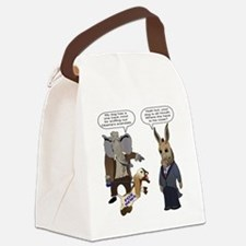 Fox News Goes After Obama Canvas Lunch Bag