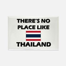 There Is No Place Like Thailand Rectangle Magnet