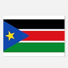 South Sudan - National Flag - Current Postcards (P