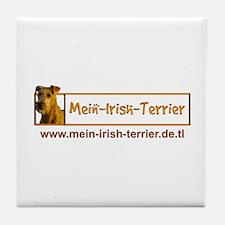 Mein-Irish-Terrier Tile Coaster