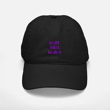 God Said It Purple Baseball Hat