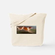 Running Borzoi/Russian Wolfhound Tote Bag