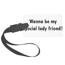 Special Lady Friend Luggage Tag