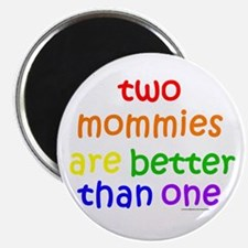 two mommies Magnet