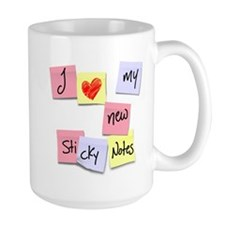 I LOVE MY STICKIES Mug
