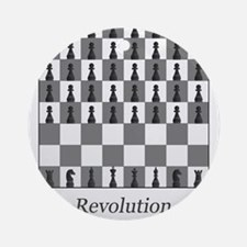 chess revolution Ornament (Round)