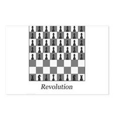 chess revolution Postcards (Package of 8)