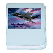 Stealth Fighter baby blanket