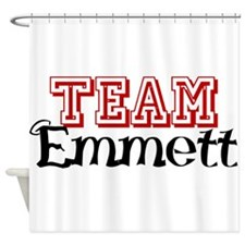 Team Emmett Shower Curtain
