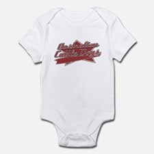 Baseball Australian Cattle Dog Baby Bodysuit