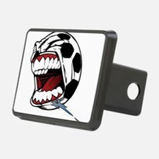 Screaming Soccer Ball Hitch Cover