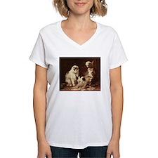 Vintage Cat Artwork Shirt