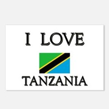 I Love Tanzania Postcards (Package of 8)