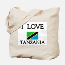 I Love Tanzania Tote Bag