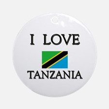 I Love Tanzania Ornament (Round)