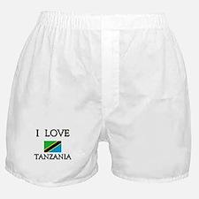 I Love Tanzania Boxer Shorts