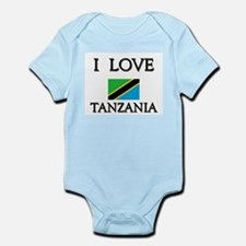 I Love Tanzania Infant Creeper