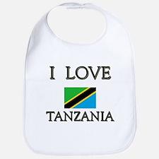 I Love Tanzania Bib