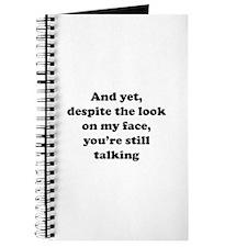 You're Still Talking Journal