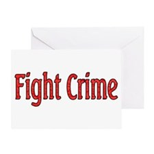 Unique Fight crime shoot back Greeting Card